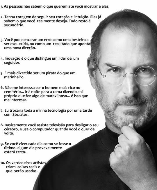 10 Frases De Steve Jobs Empreendedorismo Wwwinavegacombr